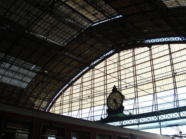Horloge de la gare de Bordeaux