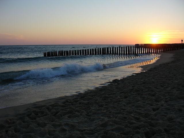 Coucher de soleil au Cap Ferret