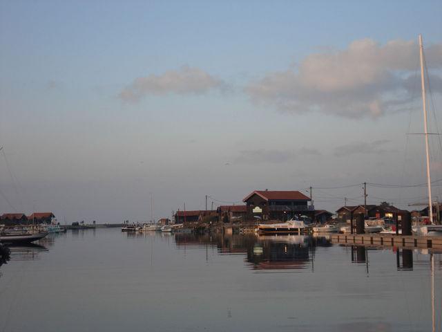 Un des ports de Gujan Mestras, sur le bassin d'Arcachon