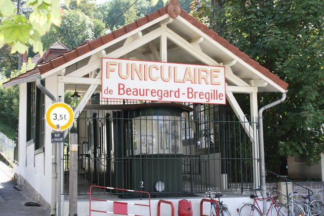 Funiculaire hors service