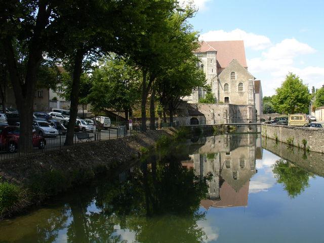 Reflet sur l'Eure à Chartres
