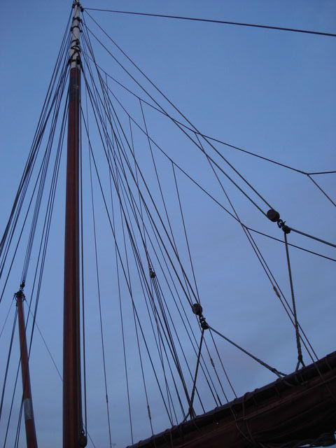 Cordages de bateau