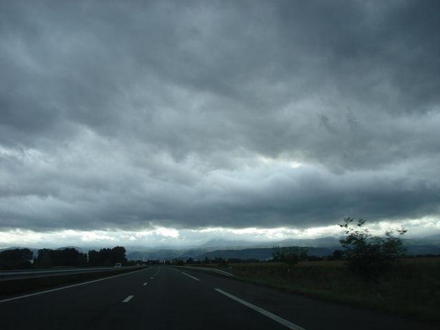 Ciel très nuageux