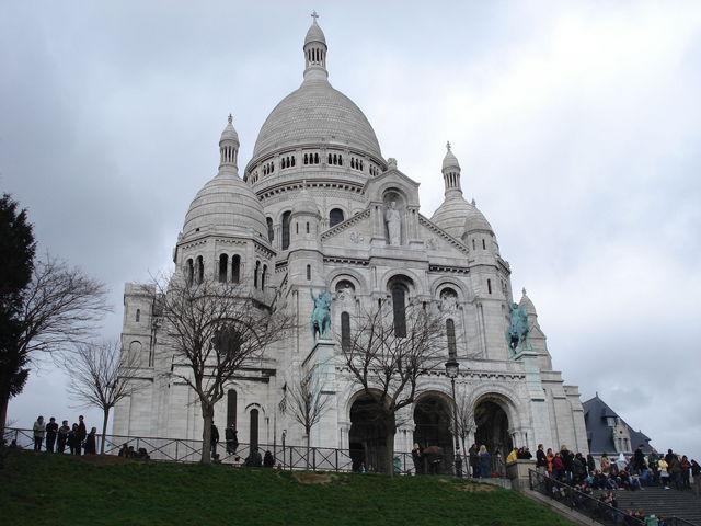 Sacré Coeur à Paris