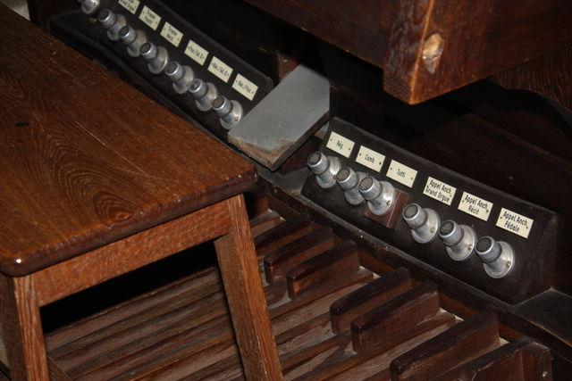 Pédalier d'orgue
