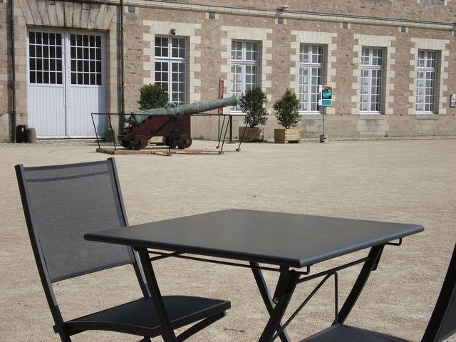 Cour du château de Nantes